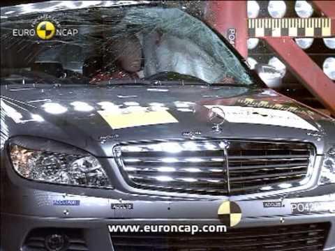 Euro NCAP | Mercedes Benz C Class | 2007 | Crash Test