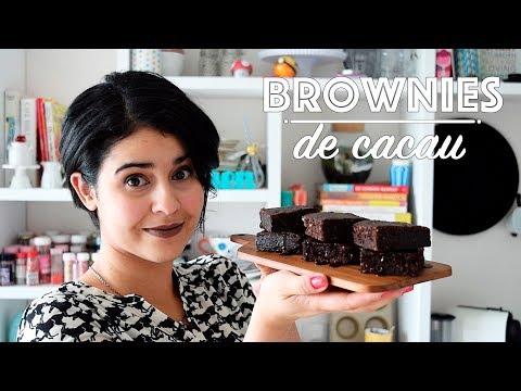 O MELHOR BROWNIE DE CACAU E CHOCOLATE - CUPCAKEANDO