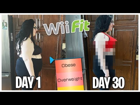 HOW MUCH WEIGHT CAN I LOSE ONLY USING WII FIT | MICHELLE PLATTI