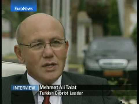 Interview with Northern Cyprus leader Mehmet Ali Talat