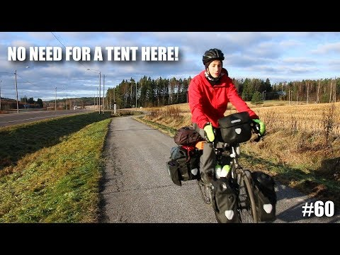 I Never Had To CAMP in Finland! | European Bike Tour #60