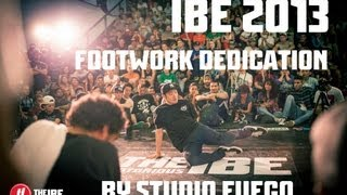 IBE 2013   Footwork the participant   Studio Fuego