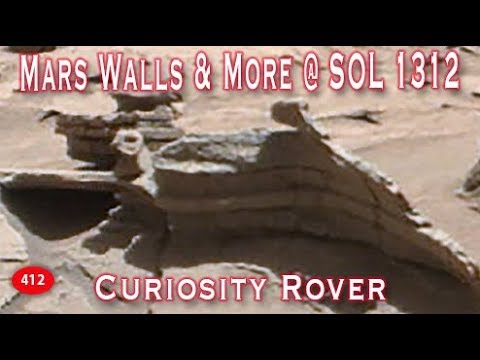 Mars Walls And More Destruction On Mt Sharp Via Curiosity