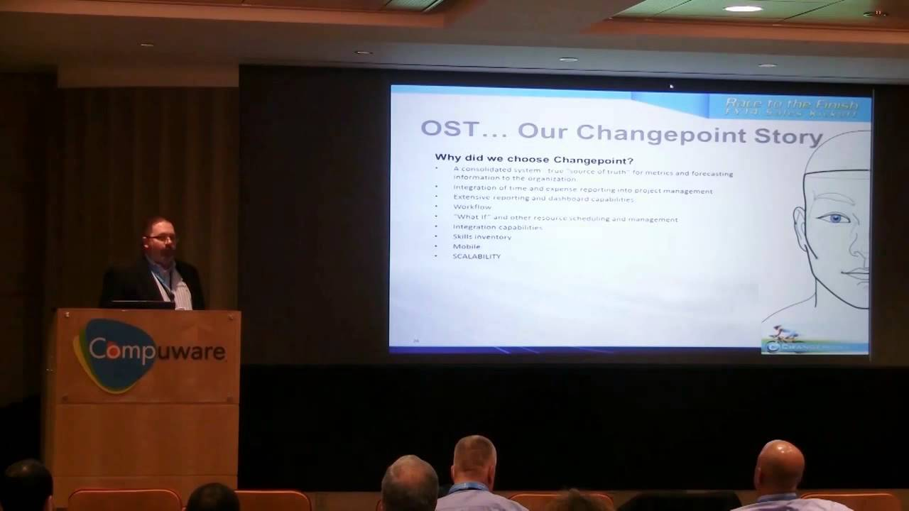 John Vancil, Director of Professional Services explains why OST chose Changepoint PSA