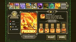 Kingdom Rush Origins Phoenix