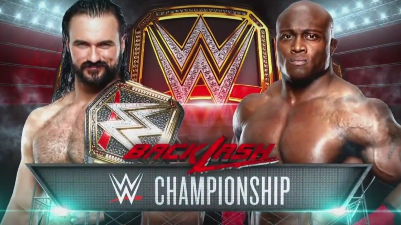 WWE Backlash 2020 Official and Full Match Card v2