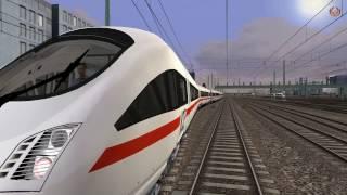 Train Simulator 2017 - ICE T - Tren de Alta Velocidad en ALEMANIA - Munich a Garmisch
