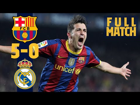 FULL MATCH: BARÇA 5-0 MADRID (2010) 👋