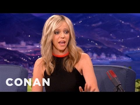 Kaitlin Olson's Pregnant Prius Peril - CONAN on TBS - YouTube