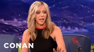 Kaitlin Olson's Pregnant Prius Peril - CONAN on TBS