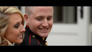 A Love Story of a Marine and His Bride: Grant and Jayme