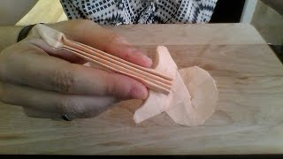 Origami Guitar Instructions