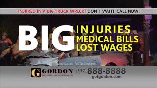Big Truck Accident Lawyer | Lake Charles | Gordon McKernan Injury Attorneys