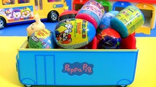 peppa pig surprise eggs