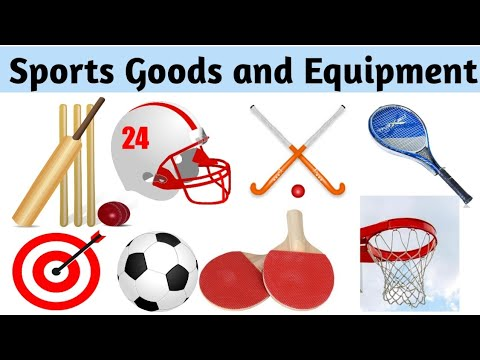 Sports Goods।Sports And Equipment।Sports Goods Name With Picture।Sports Equipment With Picture।