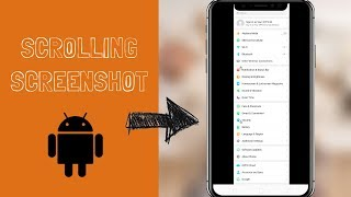 How to take scrolling screenshots on any Android device