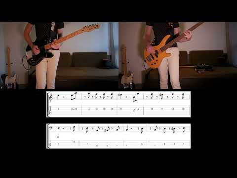 Muse - Pressure Guitar and Bass cover with tabs