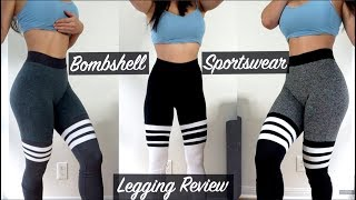 BOMBSHELL SPORTSWEAR Legging Review | Try-on, Haul & Review