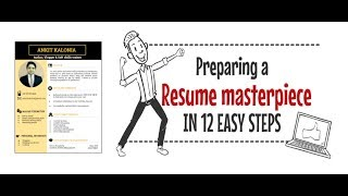 How to prepare a resume in 12 easy steps
