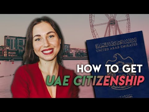 How to get UAE citizenship.