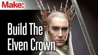 The Hobbit: Build Thranduil's badass Elven crown