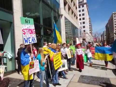 The World United Around The White House in Support of UKRAINE!!!
