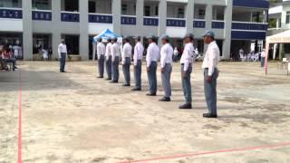 Paskibra SMAN 5 Samarinda at LKBB SMAN 1 Samarinda