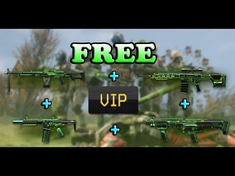 Warface - Free 4 Nuclear Weapons + 7 Days Vip Booster