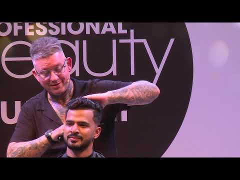 International artist Baldy & Team Andis at Professional Beauty Mumbai