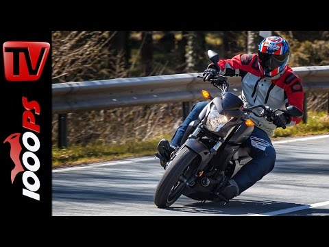 2015 Honda CTX700N Test   A2 - 48PS Einsteiger Motorräder