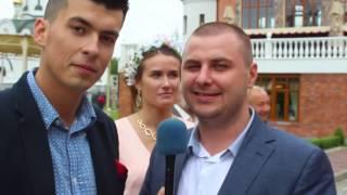Welcome Свадьба Андрей и Елена 15 июля 2016  Резиденция Королей  Хлеб да соль ТВ