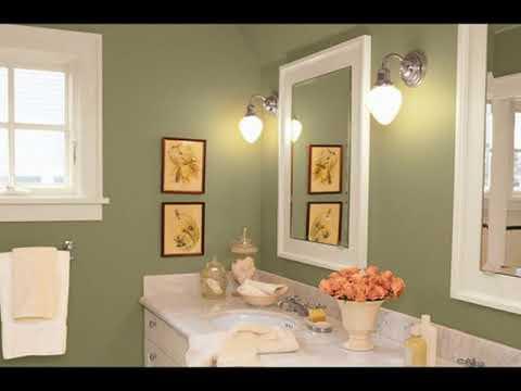 Ideas de pintura de ba o para ba os peque os youtube - Pintura especial para banos ...