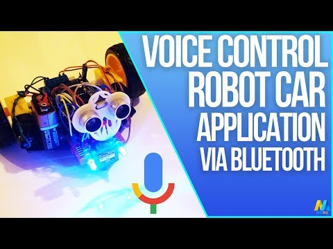 Voice Controlled Arduino Robot Car (Bluetooth and