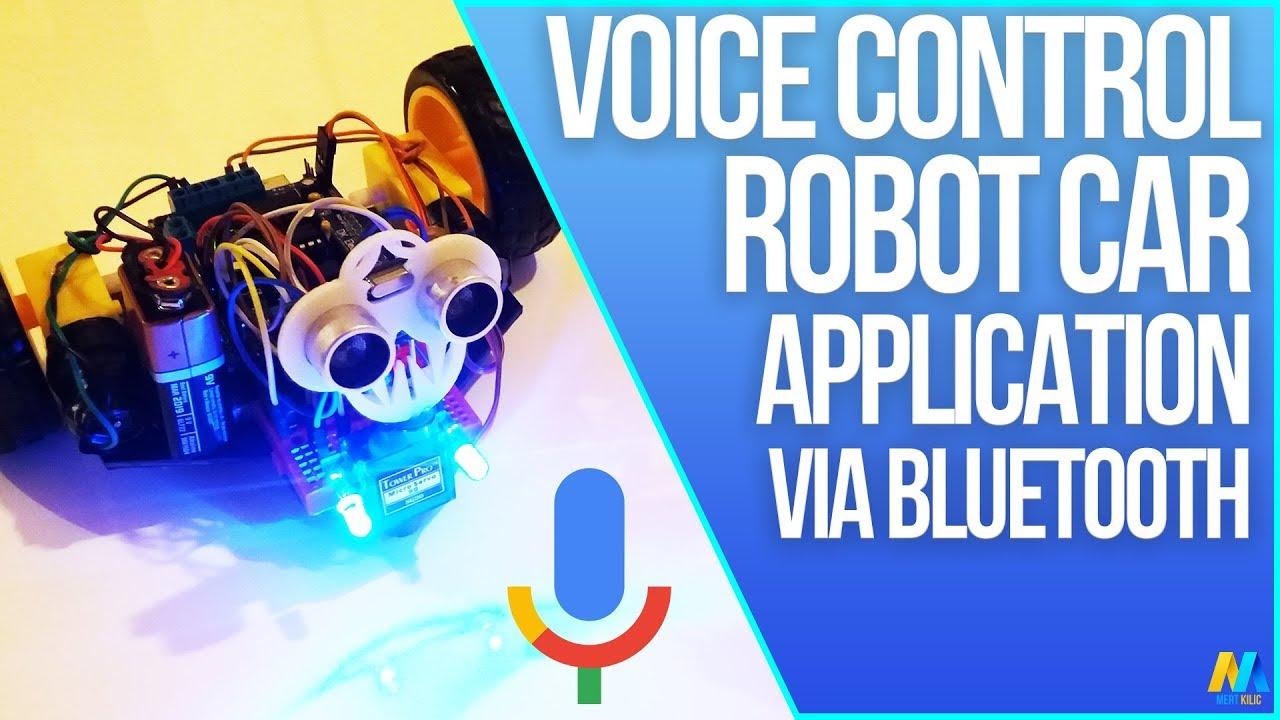 Voice controlled arduino robot car bluetoot