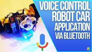 Voice Controlled Arduino Robot Car (Bluetooth and Application)