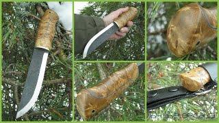 Puukko knife Roselli long hunter