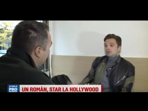 ENGLISH Sub - Sebastian Stan's Romanian Interview for Pro TV - 12.01.2016