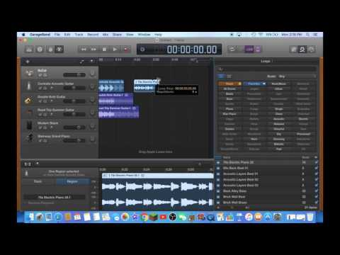How to Make A Simple Song in Garageband for Mac 2016! (Easy)