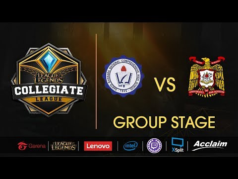 Sta. Barbara NC High School vs University of San Agustin - LoL Collegiate League Summer 2017
