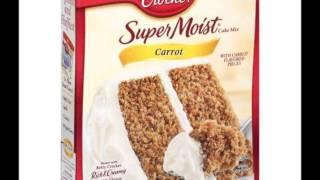 Green Shopping Market  Betty Crocker Carrot Cake Mix