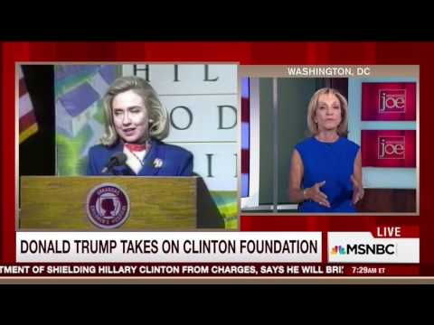 Andrea Mitchell painfully stammers Bill Clinton gave 'faulty' testimony in Paula Jones deposition