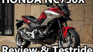 2016 Honda NC750x Review & Testride - Part 2