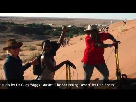 Dune survey workshop, Gobabeb, Namibia, 2012