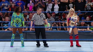 Alexa Bliss VS Naomi - WWE Chamber Elimination 2017 - (women's championship)