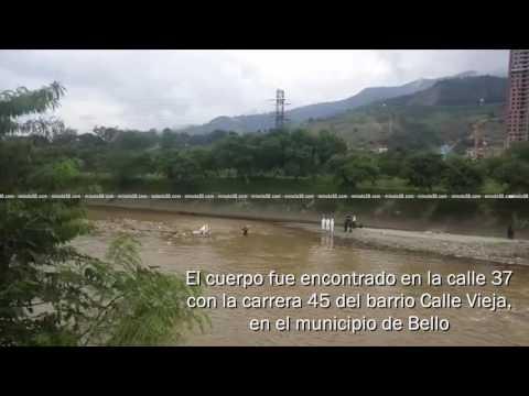 En Bello encontraron el cadáver de un hombre en aguas del río Medellín