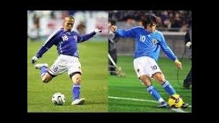 動画の説明 【サッカー最高級動画】日本サッカー界の天才の2人。小野伸...