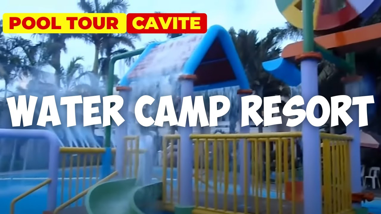 Swimming Pools At Water Camp Resort Cavite Youtube