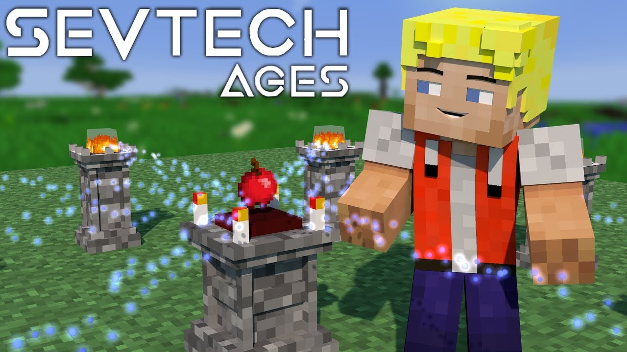 Abyssalcraft Ritual! + Shoggoth Monster - #13 SevTech Ages (Stage ...
