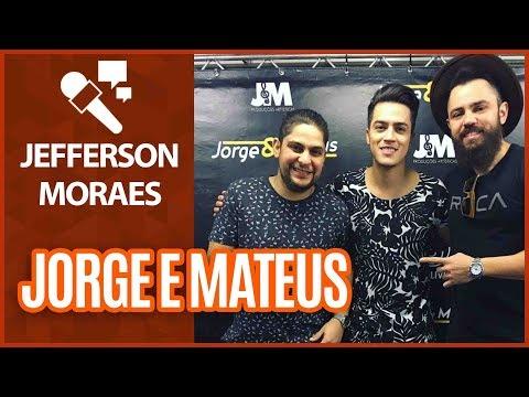 Jefferson Moraes fala de relação com Jorge e Mateus- Gazeta FM