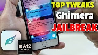 Top A12 Jailbreak Tweaks for Chimera Jailbreak iOS 12 - 12.1.2